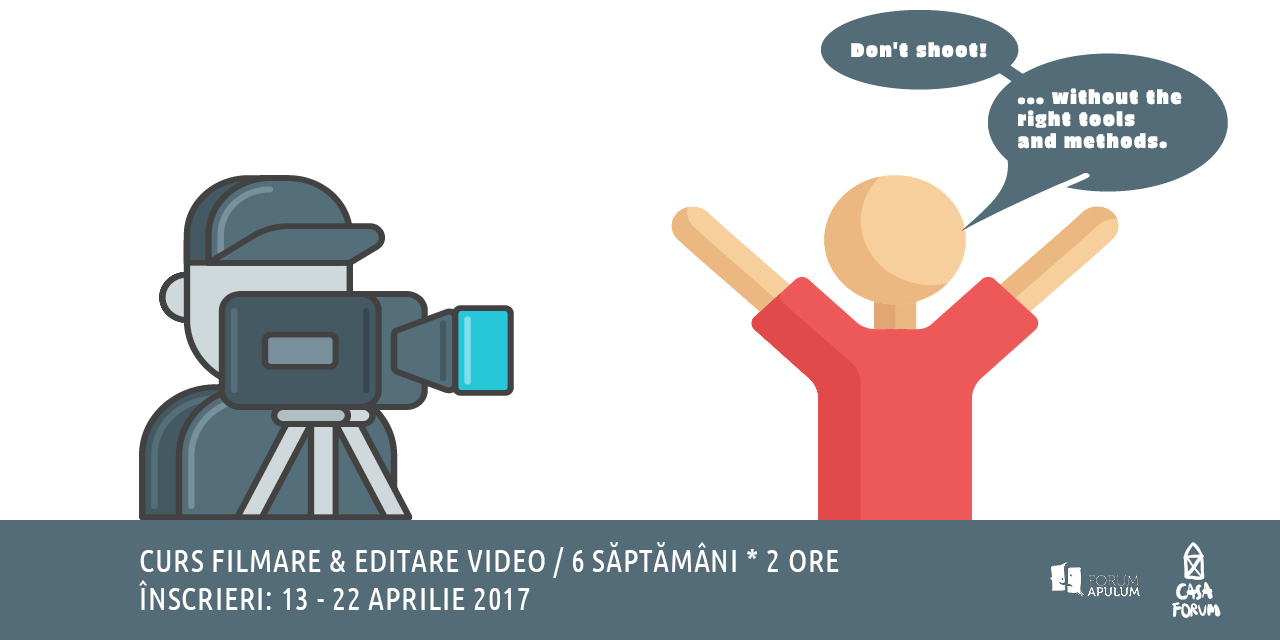 Curs filmare și editare video