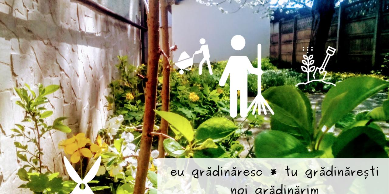 Grădinărim la CasaForum